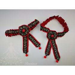Lligacames Negro-Rojo