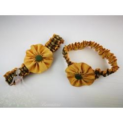 Lligacames Oro-Verde flor