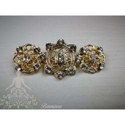 Broche Mantilla Oro mod. 1003