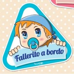 Vinilo Fallerito a bordo.